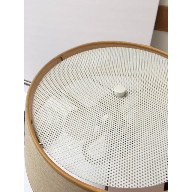 Van Nesson Chrome Mid-Century Swing Arm Desk Lamp For Sale - Image 5 of 6