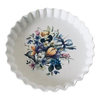 Ulster Ceramics Ceramic Fluted Tart Pan