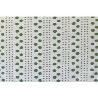 Virginia Kraft Polkat Fabric Sample, Forest For Sale