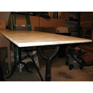 Vintage Marble Top Iron Based Table Preview