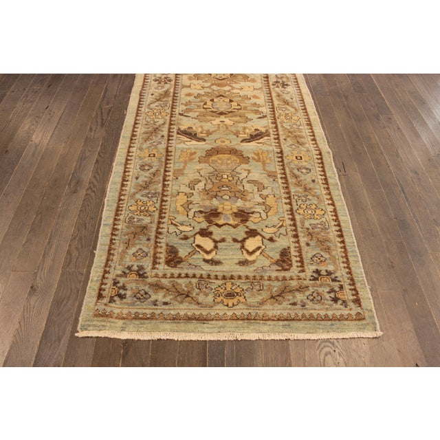 """Persian Sultanabad Rug - 3'2"""" x 13'9"""" - Image 2 of 10"""