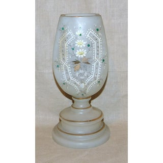 Late 19th Century Victorian Enameled Glass Vase Preview