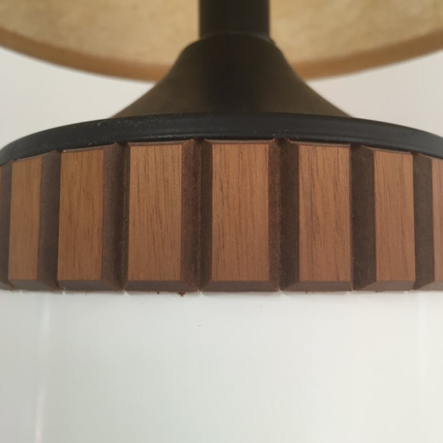Mid-Century Cylinder Table Lamp - Image 8 of 10