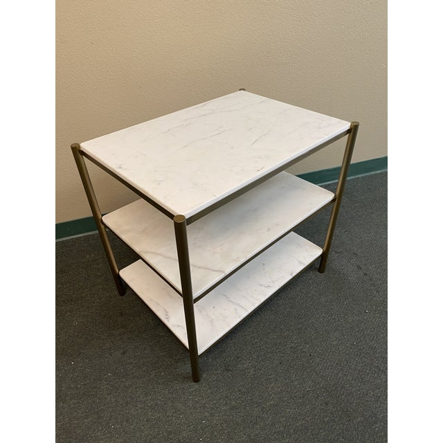 2010s New Alder & Tweed Hollywood End Table For Sale - Image 5 of 11