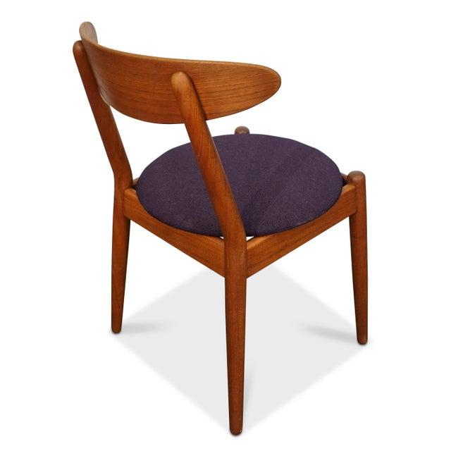 Purple Vilhelm Wohlert Louisiana Chair - Set of 2 For Sale - Image 8 of 9