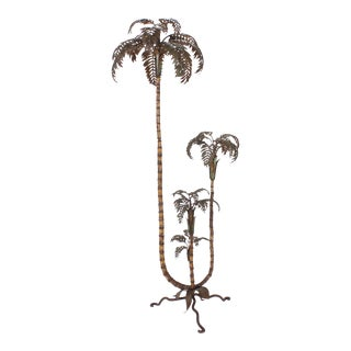 Italian Tole Palm Tree For Sale