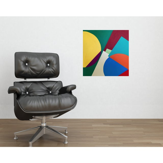 "2010s Modern ""Color Expressionism"" Painting by Tony Marine For Sale - Image 5 of 6"