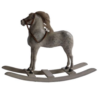 Late 19th Century Swedish Toy Horse in Wood For Sale