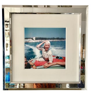 "1950's ""Lily Pons"" Framed Photograph by Slim Aarons"