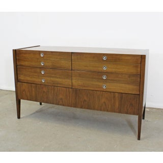 Mid-Century Danish Modern Walnut 6-Drawer Credenza/Dresser Preview
