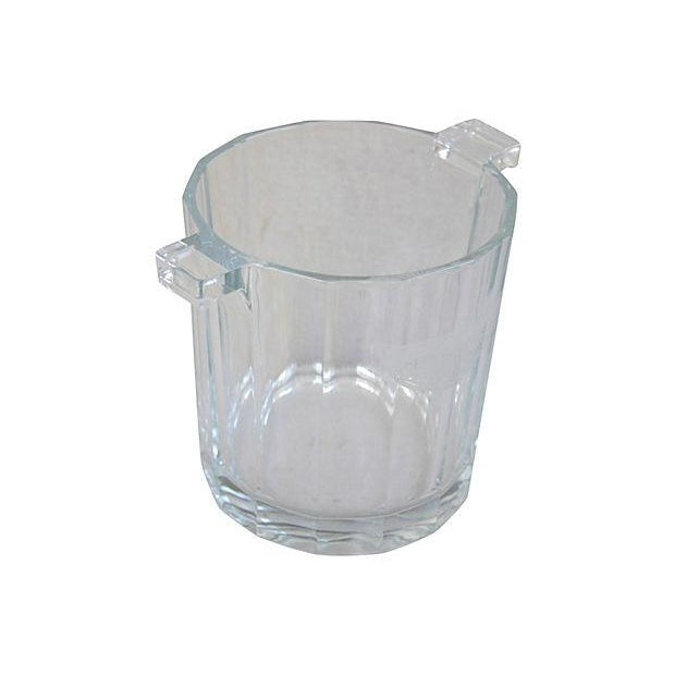 Crystal Glass Moet Chandon Bottle Bucket Chiller - Image 1 of 5