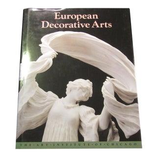 'European Decorative Arts' Coffee Table Book For Sale