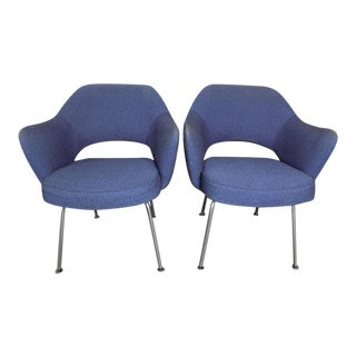 Eero Saarinen for Knoll Executive Arm Chairs - a Pair