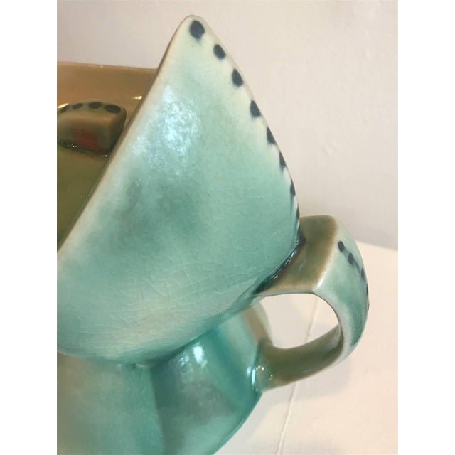 Contemporary Cubist Style Contemporary Teapot by Deborah Schwartzkopf For Sale - Image 3 of 9