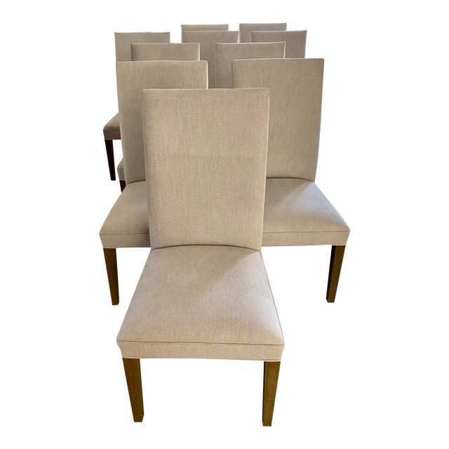 Restoration Hardware Hudson Chairs, S/10 For Sale