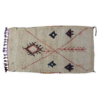 Vintage Moroccan Rug - 2′6″ × 4′8″