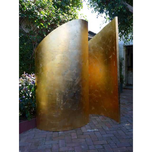 Contemporary Gold Walls Sculpture by Martha Holden For Sale In Los Angeles - Image 6 of 7