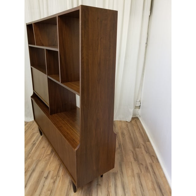 1960s Mid Century Bookcase For Sale - Image 9 of 13