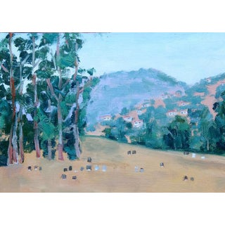 Mountain View Cemetery Oil Painting For Sale
