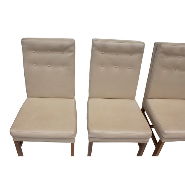 Johnson Furniture Tufted Dining Chairs - Set of 4 For Sale - Image 6 of 12