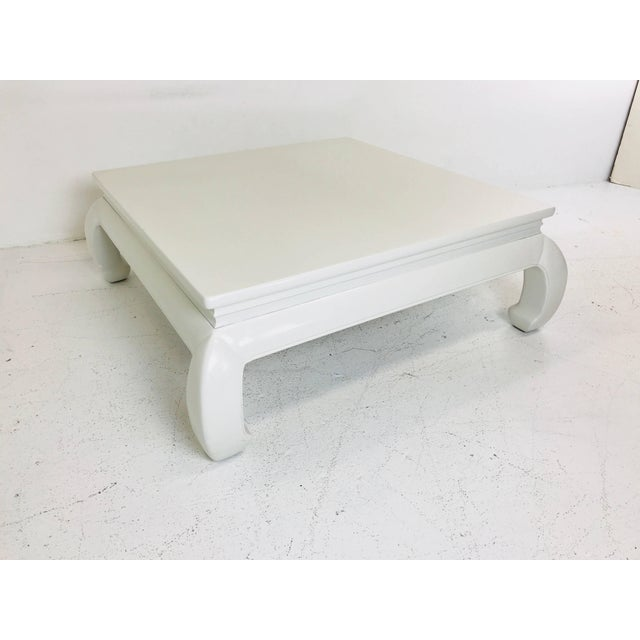 Lacquered Ming Style Coffee Table For Sale - Image 4 of 7