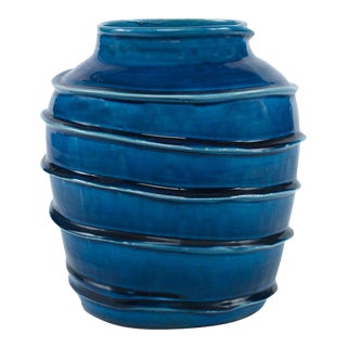 Curated Kravet Kasey Vase For Sale