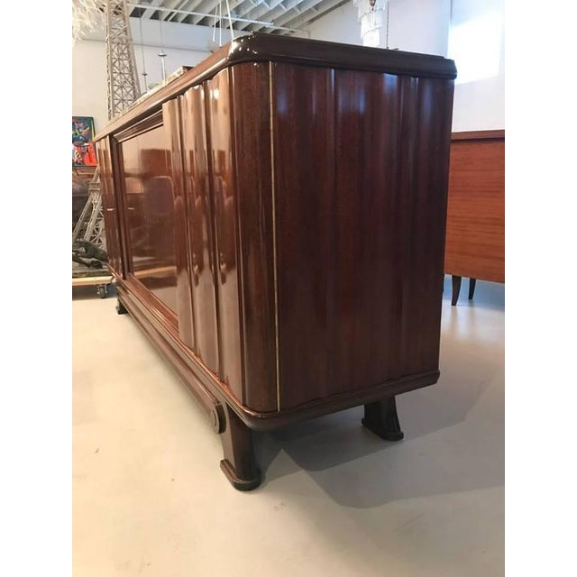 1930s French Art Deco Numbered Gaston Poisson Buffet For Sale - Image 5 of 10