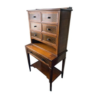 Vintage French Secretary Cabinet For Sale