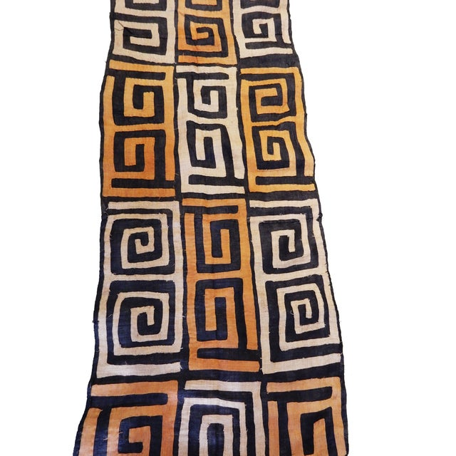 1970s Bushoong Kuba Cloth For Sale - Image 4 of 6
