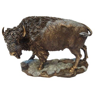 American Bison Sculpture For Sale