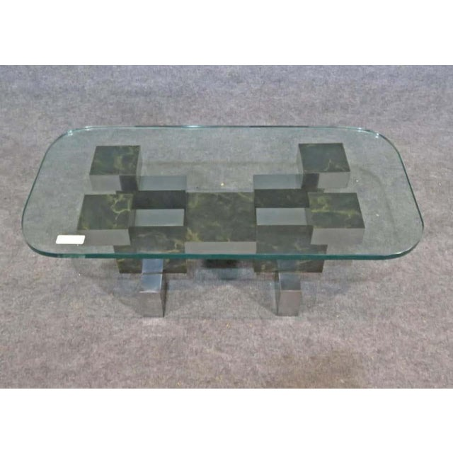 1960s Paul Evans Style Coffee Table For Sale - Image 5 of 6