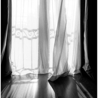 "Contemporary Black & White Photograph ""Curtains"" by Jeffrey Glasser For Sale"