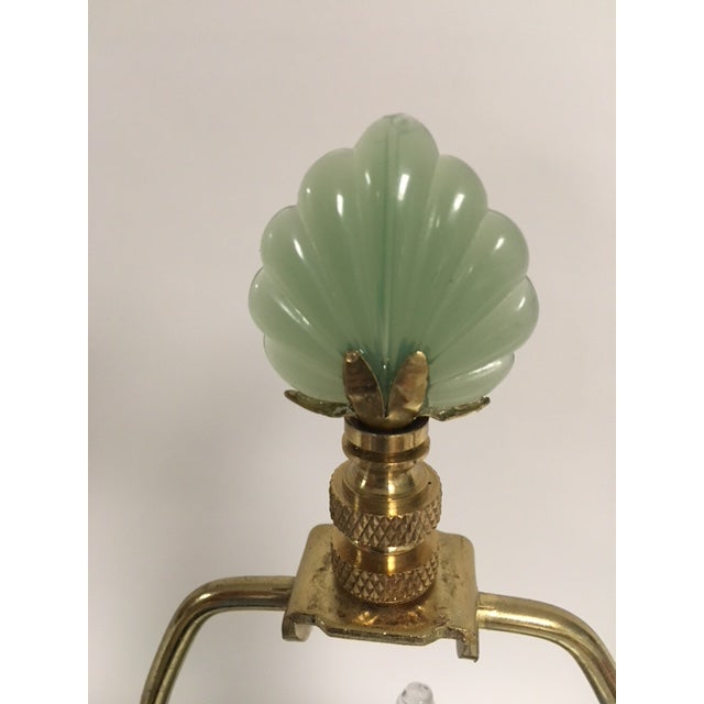 The shape and color are what really set these lamps off. The green is faded but beautiful and the shape is classic and...