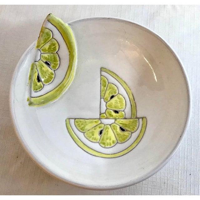 Love this Italian Figural lemon bowl!