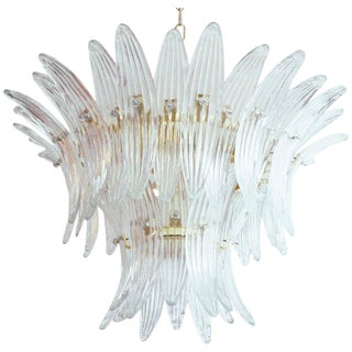 Tropicana Palmette Chandelier by Fabio Ltd For Sale