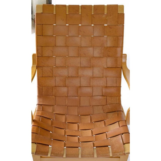 "Bruno Mathsson Leather ""EVA"" Lounge Chair - Image 8 of 10"