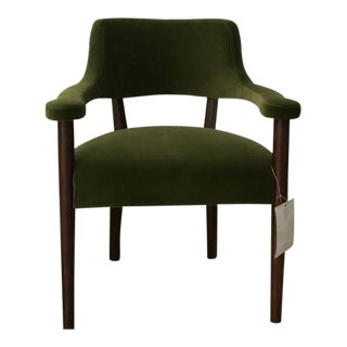 Lee Industries Upholstered Armchair For Sale