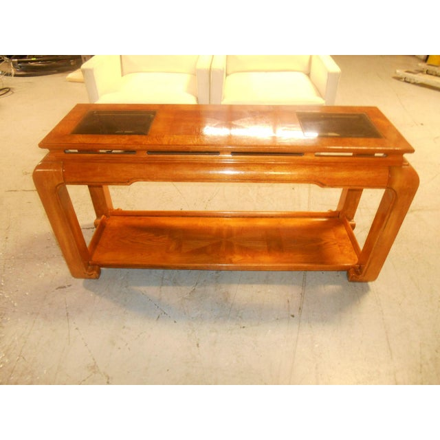 Mid-Century Mod Floating-Top Console For Sale - Image 6 of 6