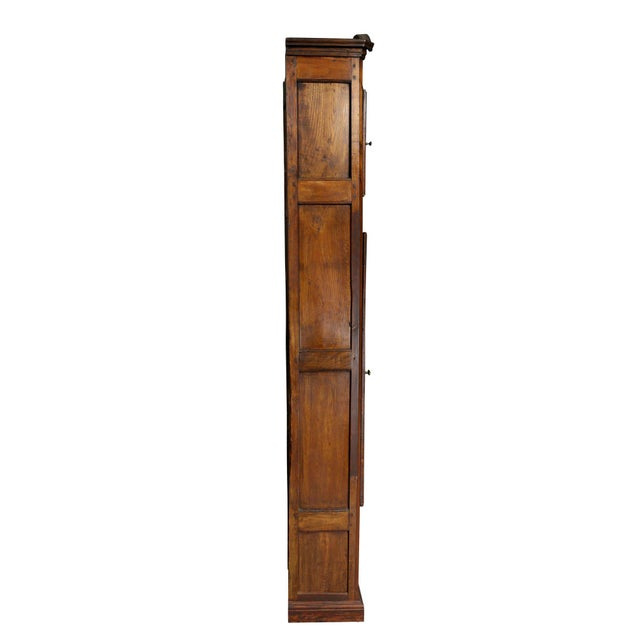 Louis XVI Provincial Fruitwood Tall Case Clock For Sale - Image 5 of 8