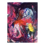 Image of Original Abstract Painting Acrylic Ink by Erik Sulander For Sale