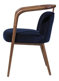 Image of Navy Blue Dining Chairs