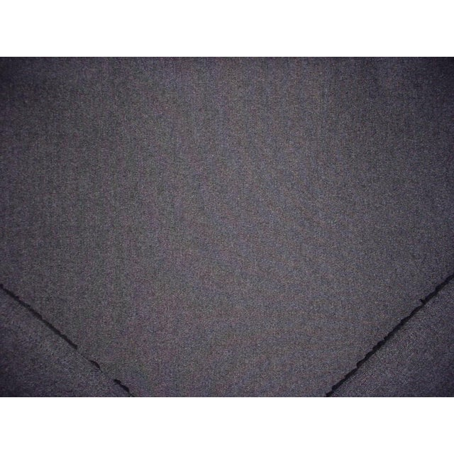 Kravet Traditional Kravet Couture Charcoal Gray Heavy Wool Felt Upholstery Fabric - 18-1/4y For Sale - Image 4 of 5