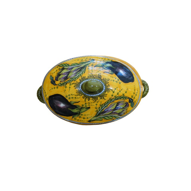 Tuscan Hand-Painted Tureen - Image 2 of 5