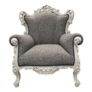 Over-The-Top Accent Chair For Sale