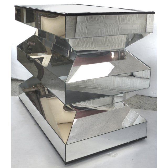 Angled Mirror Console -- or Dinning Table Base - Image 2 of 9