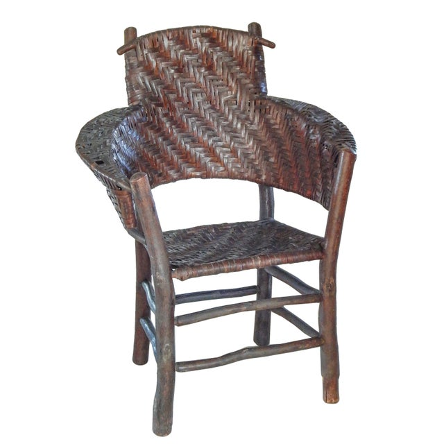 Old Hickory Armchair For Sale In New York - Image 6 of 10
