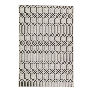 Nikki Chu by Jaipur Living Calcutta Indoor/ Outdoor Geometric Area Rug - 7′2″ × 10′ For Sale