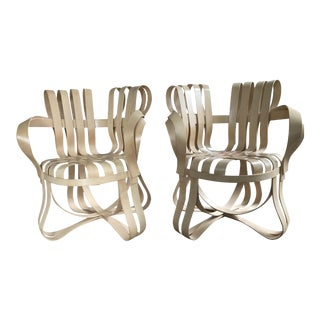 Frank Gehry Cross Check Chairs - A Pair For Sale