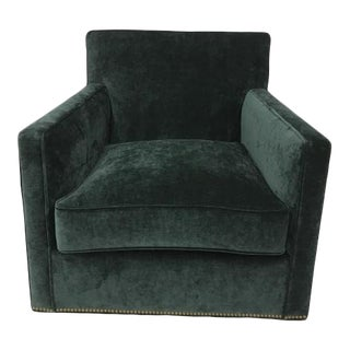 Century Furniture Barnaby Swivel Chair For Sale