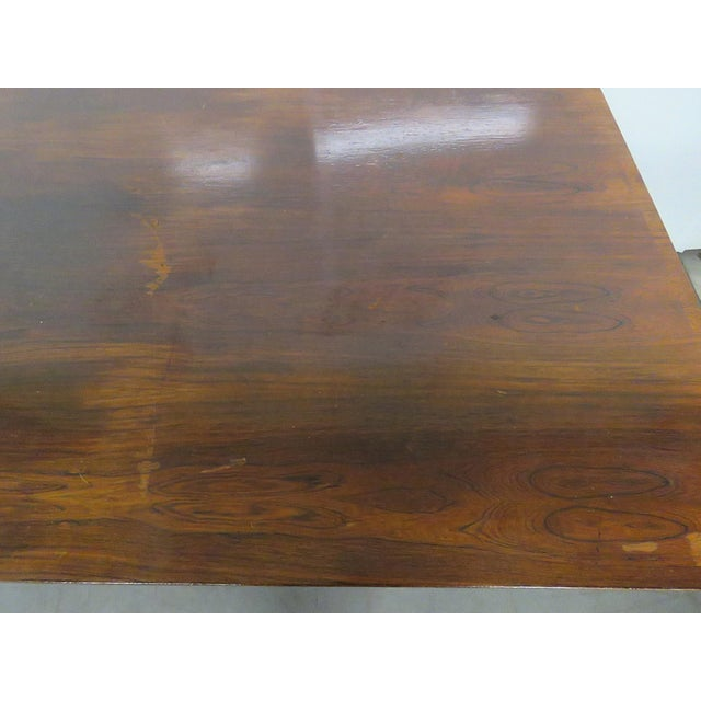 Frattini Italian Rosewood Dining Table - Image 4 of 9